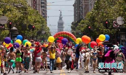 旧金山警方加强同性恋周安保