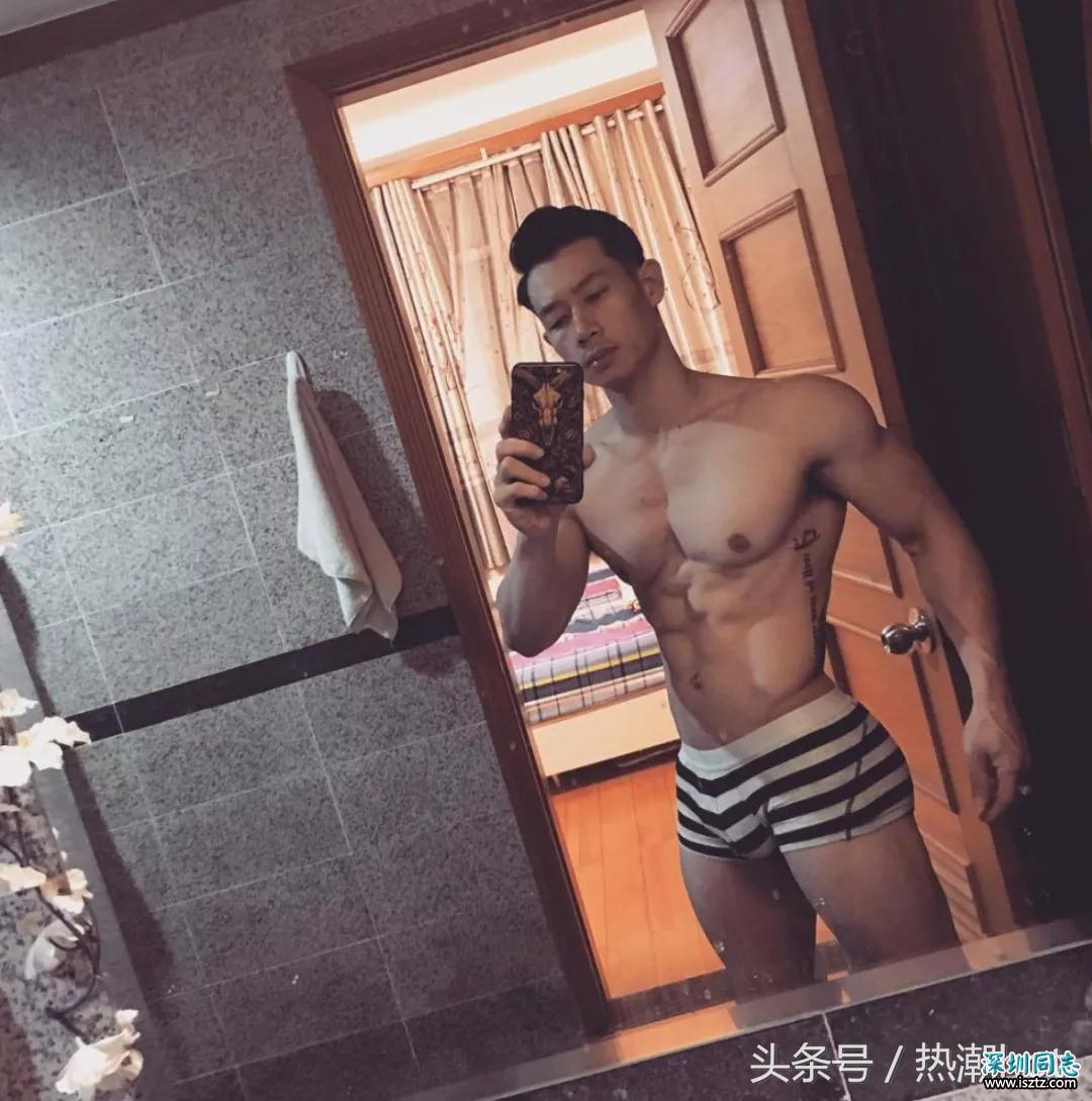 越南的健身肌肉帅哥,看着也还蛮舒服的