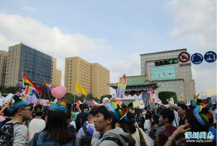 台湾同志群体将举行大游行 预估超12万人上街头