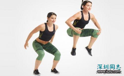 这些减肥训练动作,在家就可以做,帮你快速减肥
